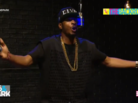 "King Los Freestyles On BET's ""The Backroom"""