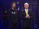 "J. Cole Performs ""Be Free"" Live On David Letterman"