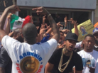 "YG & Nipsey Hussle Shoot ""F*ck Donald Trump"" Video In L.A."