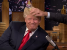 """Jimmy Fallon Messes Up Donald Trump's Hair On """"The Tonight Show"""""""