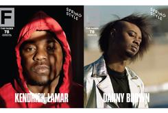 Kendrick Lamar & Danny Brown Cover The Fader