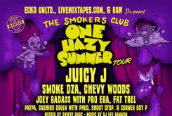 "Juicy J Headlines The Smoker's Club ""One Hazy Summer"" Tour"