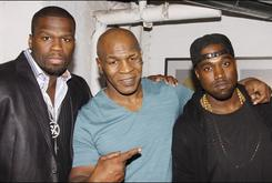 50 Cent & Kanye West At Mike Tyson Broadway Premier