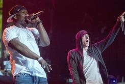 """50 Cent And Eminem Filming Video For """"Street King Immortal"""" Single"""