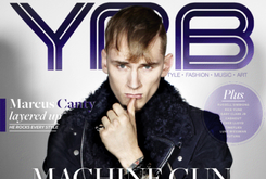 Machine Gun Kelly On The Cover Of YRB Magazine