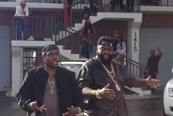 "BTS Photos: Video Shoot For Pusha T's ""Millions"" Featuring Rick Ross"