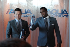 Diddy & Mark Wahlberg Launch AQUAhydrate Performance Water