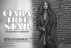 Ciara Covers L'Uomo Vogue