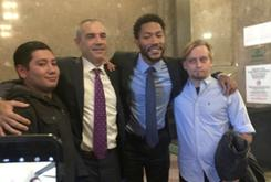 Judge Jokes With Derrick Rose After Clearing Him Of Rape Charges