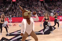 Even The San Antonio Spurs' Mascot Is Trolling Mariah Carey