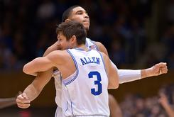"Duke Blue Devils End Grayson Allen's ""Indefinite Suspension"" After One Game"