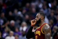 LeBron James Taunts Warriors Fans With His Three Championship Rings