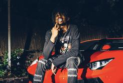 Playboi Carti Stunts On A Lambo In The Des Milliards 2017 Spring/Summer Editorial