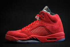 """""""Red Suede"""" Air Jordan 5s Confirmed For This Summer"""