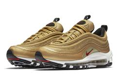 """Metallic Gold"" Nike Air Max 97s To Release In Men's And Kid's Sizes This Month"