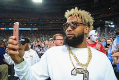 Odell Beckham Jr. Gets Crazy New Tattoo Of Lil Wayne, Bob Marley & Mike Tyson