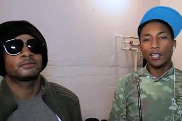 "N.E.R.D. ""New Era Photo Shoot"" Video"