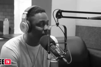 """Kendrick Lamar """"Tells His Story & Talks Paying for Music"""" Video"""