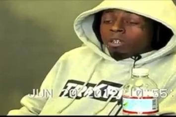 "Lil Wayne ""Deposition Footage"" Video"