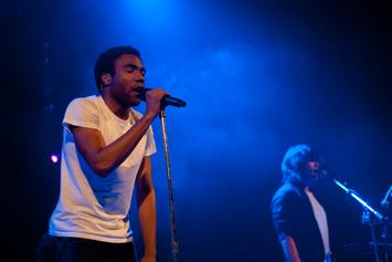 Childish Gambino Performs New Song In Philadelphia