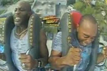 DMX Freaks Out On Amusement Park Ride