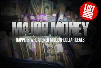 Major Money: Rappers Who Signed Million-Dollar Deals