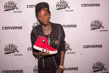 Wiz Khalifa Reunites With Converse For A New Sneaker Collection