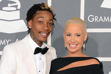Amber Rose Files For Divorce From Wiz Khalifa [Update: Rose Allegedly Walked In On Wiz With Another Woman]