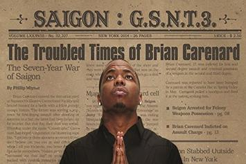 """Stream Saigon's """"GSNT3: The Troubled Times Of Brian Carenard"""""""