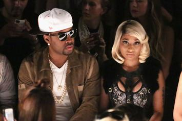 "Nicki Minaj & Ex-Boyfriend Safaree Go Back And Forth On Twitter [Update: SB Tells TMZ ""Its Nothing But Love""]"