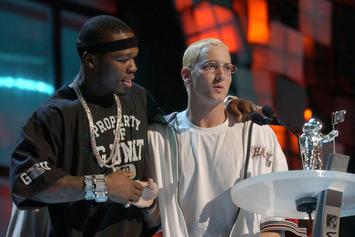 """50 Cent Says He Has Song With Eminem On """"Street King Immortal"""""""