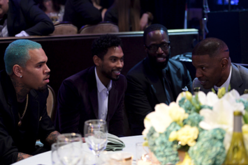 Photos: Chris Brown, Miguel, Pharrell & More Attend Clive Davis' Pre-Grammy Gala