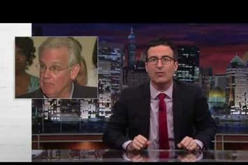 """John Oliver Discusses Ferguson, MO and Police Militarization On """"Last Week Tonight"""""""