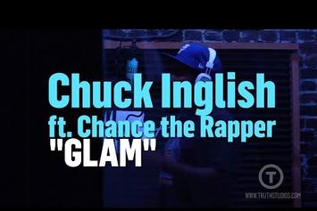 "Chuck Inglish & Chance The Rapper Record ""Glam"" At Truth Studios"