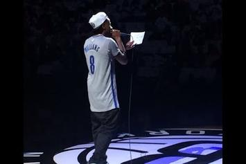 Fabolous Introduces Brooklyn Nets Starters At Game 6