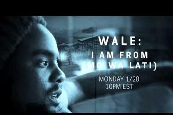 "Wale ""I Am From"" Documentary Trailer"