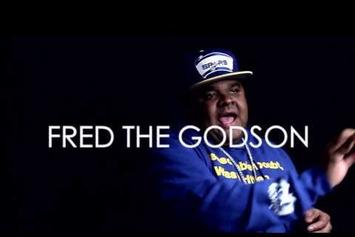 "Fred The Godson ""The Session"" Video"