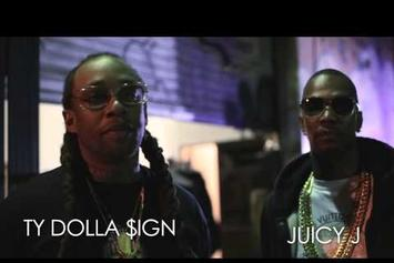 """BTS Of Ty Dolla $ign """"Ratchet In My Benz"""" Feat. Juicy J"""