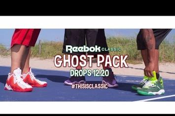 Cam'ron & Juelz Santana Play Basketball In Reebok Ad
