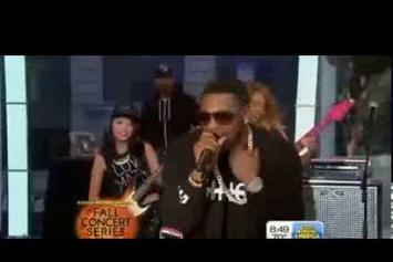 "Nelly & T.I. Perform ""Rick James"" On Good Morning America"