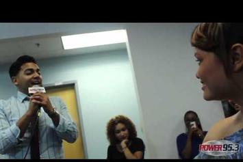 """J. Cole Feat. Wale """"Take Part In Marriage Proposal"""" Video"""