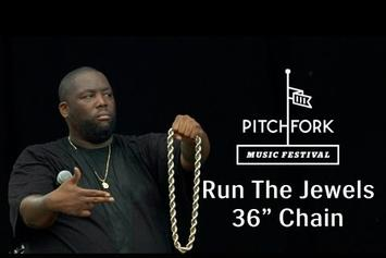 "Run The Jewels (Killer Mike & El-P) """"36"" Chain"" Live @ Pitchfork Music Festival"" Video"