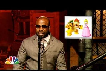 "Black Thought ""Freestyles Over Super Mario Bros Theme"" Video"