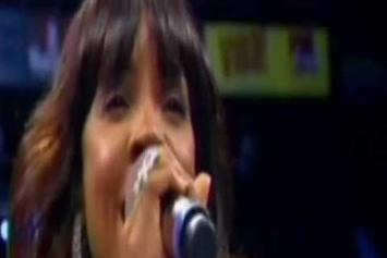 """Kelly Rowland """"National Anthem At Mayweather Fight"""" Video"""