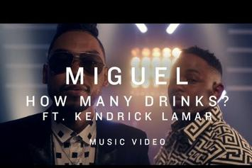 "Miguel Feat. Kendrick Lamar ""How Many Drinks (Remix)"" Video"