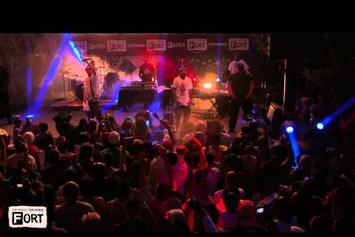 "French Montana ""Stay Schemin' (Live At SXSW)"" Video"