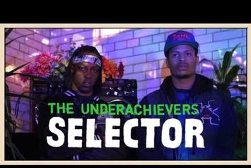 "The Underachievers ""On Pitchfork Selector"" Video"
