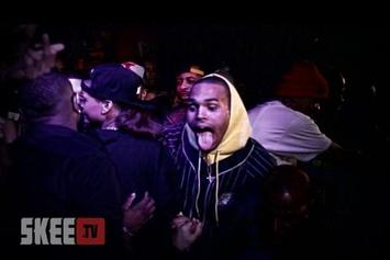 "Chris Brown ""Performs New Song At Diddy's Party"" Video"