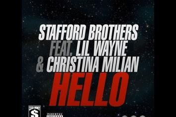 "Christina Milian Feat. Lil Wayne ""Previews single ""Hello"" At Club"" Video"