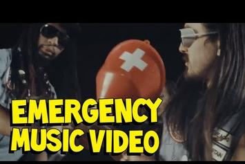"Steve Aoki Feat. Lil Jon & Chiddy Bang ""Emergency"" Video"